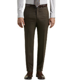 Executive Collection Tailored Fit Flat Front Shark