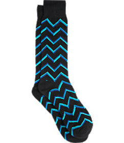 Jos. A. Bank Zigzag Socks, 1-Pair CLEARANCE