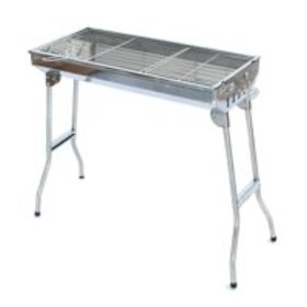 Foldable Stand Stainless Barbecue Charcoal Grill w
