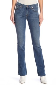 7 For All Mankind Topstitched Bootcut Jeans