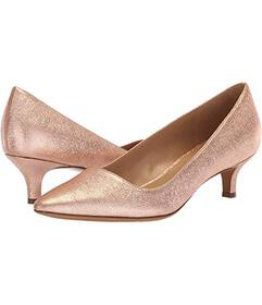 Naturalizer Rose Gold Sparkle Metallic Leather