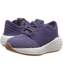 New Balance Kids KVCRZv2I Nubuck (Infant\u002FTodd