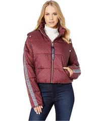 Juicy Couture JXJC Repeat Snap Off Sleeve Puffer J