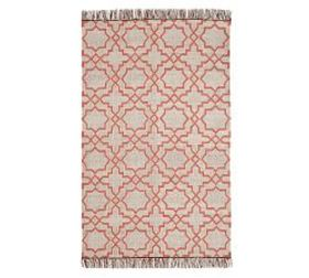 Beverly Synthetic Rug - Warm Multi