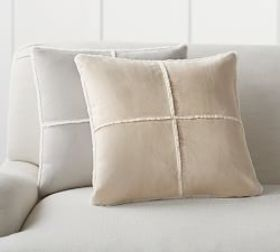 Faux Shearling Pillow Covers