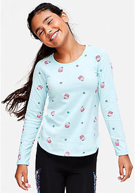 Pattern Long Sleeve Tee