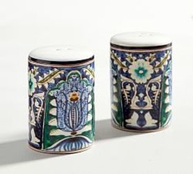 Mezze Salt & Pepper Shakers - Blue