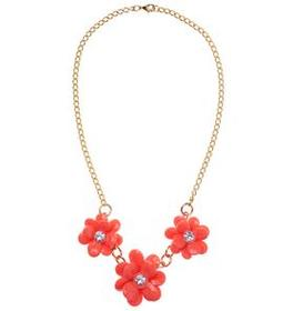 Gem Flower Necklace