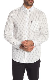 Ben Sherman Diamond Geo Print Classic Fit Shirt