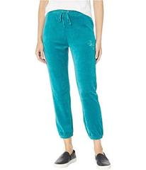 Juicy Couture Juicy Emboss Velour High-Waisted Zum