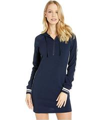 Juicy Couture Textured Dress with Hood