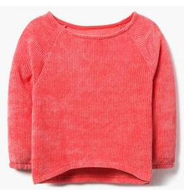 Boatneck Chenille Sweater