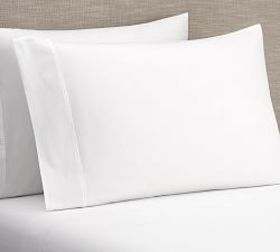 PB Classic 400-Thread-Count Organic Sheet Set