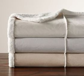 Faux Shearling Throws