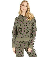 Juicy Couture Floral Print Juicy Logo Pullover w\u