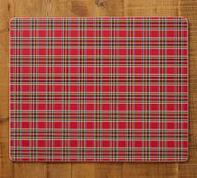 Aspen Plaid Cork Placemat