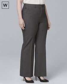 Plus Luxe Suiting Bootcut Pants
