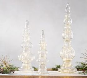 Clear Glass Finials