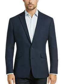 Awearness Kenneth Cole Navy Tic Slim Fit Sport Coa