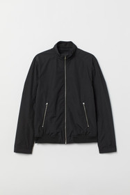 Jacket with Stand-up Collar