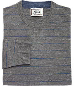 1905 Collection Cotton Crew Neck Sweater - Big & T