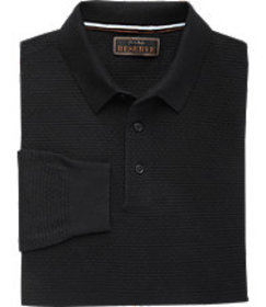 Reserve Collection Tailored Fit Polo Sweater CLEAR