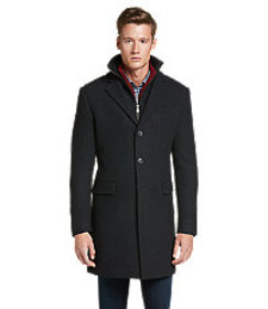 1905 Collection Tailored Fit Steep Twill Topcoat C