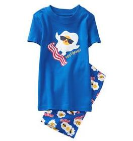 Eggs-treme 2-Piece Shortie Pajamas