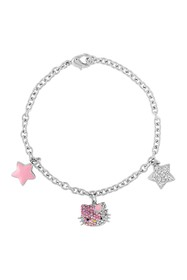 Hello Kitty Hello Kitty Sterling Silver 3-Charm Cr