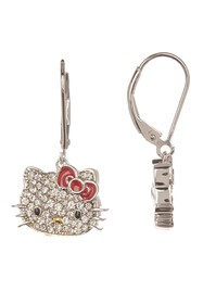 Hello Kitty Hello Kitty Sterling Silver Czech Crys