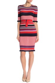BOSS Fantonia Ribbed Dress