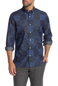 Brooks Brothers Bandana Print Regular Fit Shirt