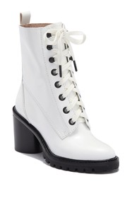 Marc Jacobs Ryder Lace-Up Leather Boot