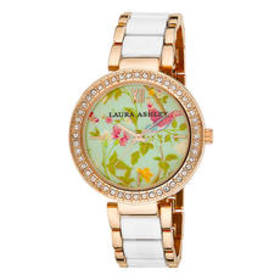 Womens Laura Ashley® Summer Watch - LA31007WT