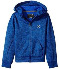 Hurley One and Only Therma Fit Zip Hoodie (Little