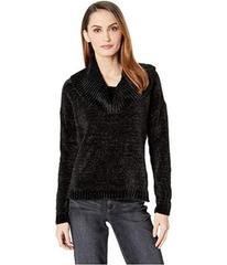 MICHAEL Michael Kors Long Sleeve Velvet Cowl Sweat