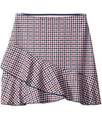 Tommy Hilfiger Houndstooth Skirt (Big Kids)
