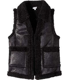 Splendid Littles Pleather Sherpa Vest (Big Kids)
