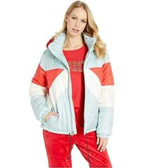Juicy Couture Color Block Puffer Jacket