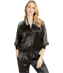 Juicy Couture Satin Track Jacket with Logo Side St