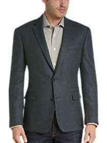 Awearness Kenneth Cole Teal Tic Slim Fit Sport Coa