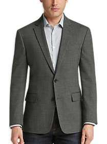 Awearness Kenneth Cole Black & White Tic Slim Fit