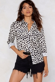 Look Me in the Heart Relaxed Shirt
