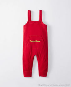 Curious George® Overalls In Organic Cotton