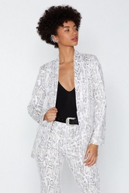 Snake a Minute Relaxed Blazer