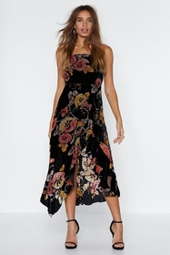 You Can't Grow Wrong Devore Dress