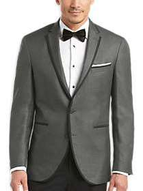 Kenneth Cole New York Charcoal Slim Fit Dinner Jac