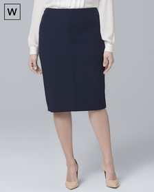 Plus Body Perfecting Pencil Skirt