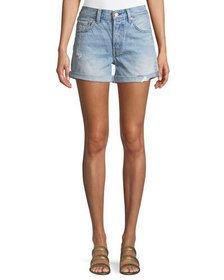 Levi's Premium 501 North Beach Blues Mid-Rise Deni