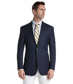 Traveler Collection Tailored Fit Textured Sportcoa